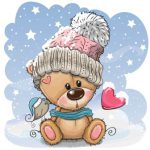 تدی در برف