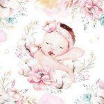 عکس نوزاد خوابیده