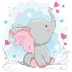 بچه فیل طوسی