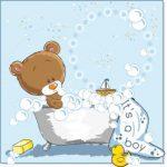 خرس تدی در کف