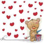 خرس و قلب