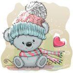 خرس با کلاه