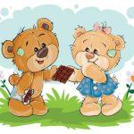 بچه خرس های خندان
