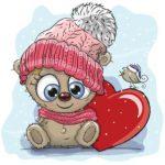 بچه خرس و قلب