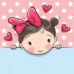 دختر و قلب