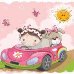 دخترکوچولوی راننده