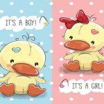اردک پسر و دختر