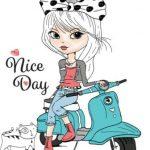 دختر موتورسوار