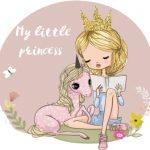 اسب شاخ دار و پرنسس