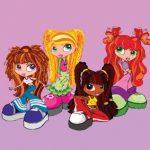 عکس کارتونی دختران با کفش بزرگ