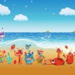 عکس فانتزی حیوانات عجیب و دریا