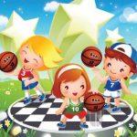 عکس بسکتبال کودکان