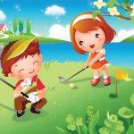 عکس کارتونی بازی کودکان