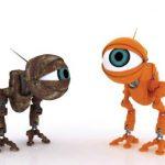 عکس کارتون رباتی یک چشم