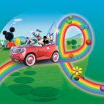 عکس کارتون میکی ماوس با ماشین