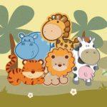 عکس کارتونی حیوانات جنگل