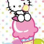 کیتی با بستنی