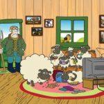 عکس کارتون گوسفندان مزرعه