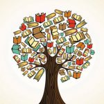 عکس درخت و کتاب