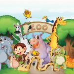 عکس باغ وحش کارتونی