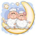 عکس گوسفند رو ماه
